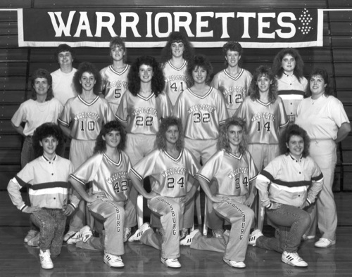 1989-90 WARRIORETTES
